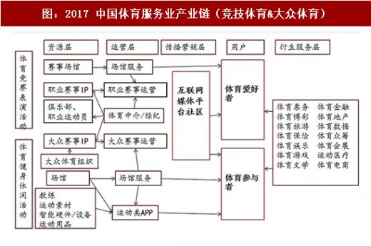 2017 中国体育服务业产业链(竞技体育&大众体育)-2018年中国体